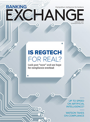 Banking Exchange Cover June/July