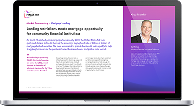 https://www.bankingexchange.com/images/WhitePaperImage/Finastra_Lending-restrictions-create-mortgage_400.png