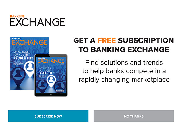 Banking Exchange Free Subscription