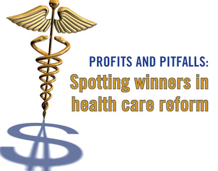 Healthcare reform: profits for lenders?