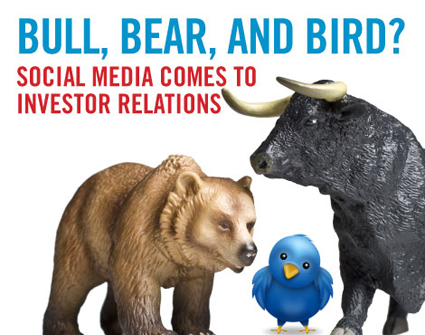 Bull, bear, and bird: Social media and investor relations