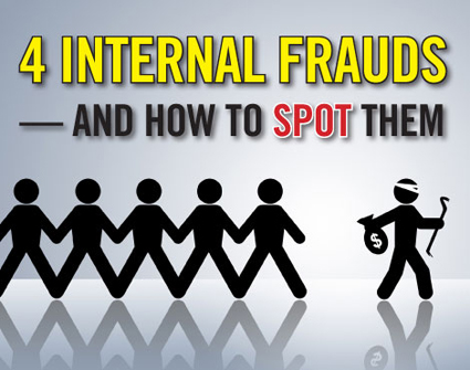 4 internal frauds and how to spot them