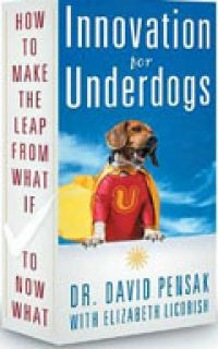 Innovation for Underdogs: How to Make the Leap from What If to Now What, By David Pensak, Ph.D, with Elizabeth Licorish., 224pp., Career Press