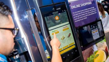 Groceries by MasterCard was unveiled by the payments company during the recent CES—fomerly known as the Consumer Electronics Show. Owners of Samsung's new Family Hub refrigerator will be able to order and pay for groceries from the factory-installed app.