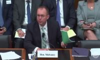 """Elections have consequences,"" Mulvaney tells bankers"